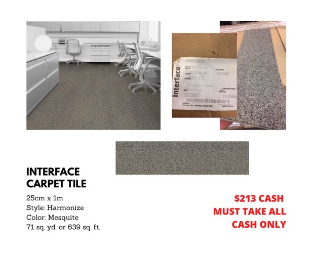Interface Carpet Tile | Macco's Floor Covering Center